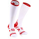 Compressport Ultralight Racing - Calcetines Running - Ironman Edition blanco